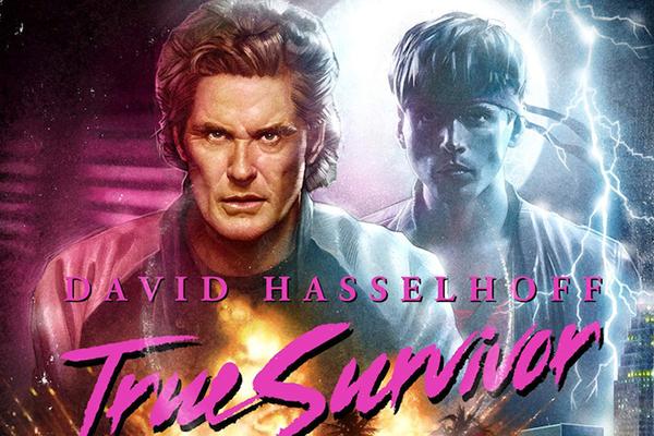 David Hasselhoff de retour dans un clip complètement WTF !