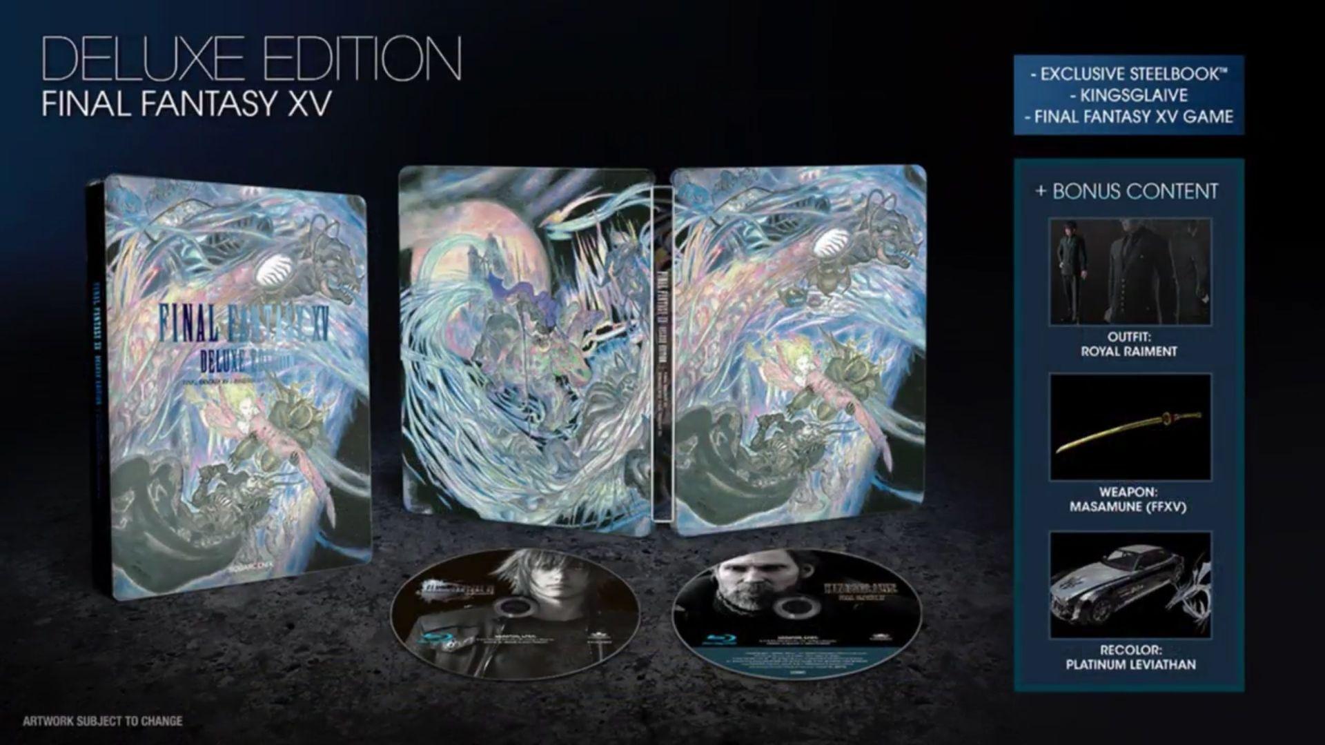 Final Fantasy XV - Deluxe edition