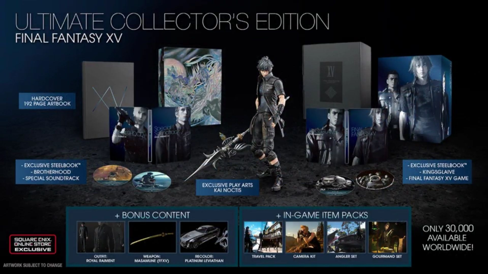 Final Fantasy XV - Ultimate collector's edition