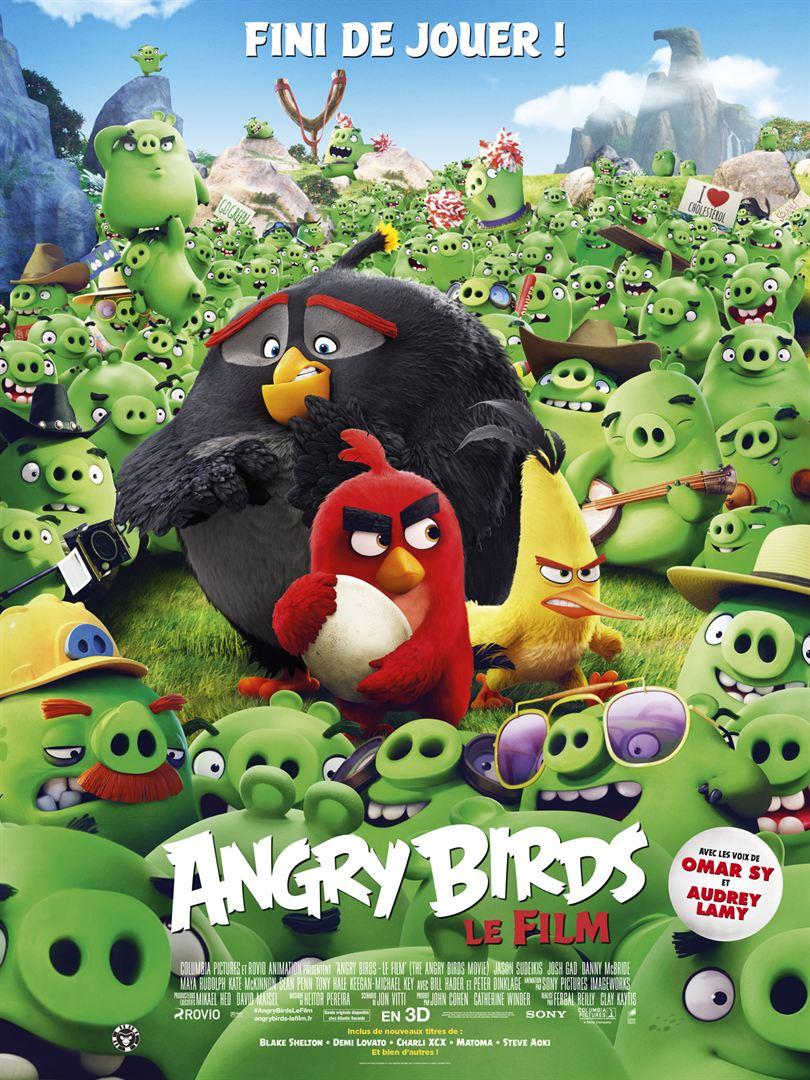 Angry Birds le film de Clay Kaytis et Fergal Reilly avec les voix d'Omar Sy, Audrey Lamy, Jason Sudeikis