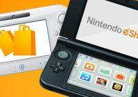 Nintendo eShop : mise à jour du 24 novembre 2016