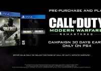 [E3 2016] Call of Duty: Modern Warfare Remastered – 30 jours plus tôt sur PS4