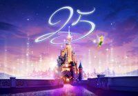 Disneyland Paris dévoile un superbe programme pour ses 25 ans !