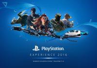 Découvrez le Line up de la PlayStation Experience 2016