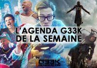 L'agenda Geek de la semaine (du 19 au 25 décembre 2016)