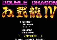 Double Dragon IV annoncé sur PS4 et PC !