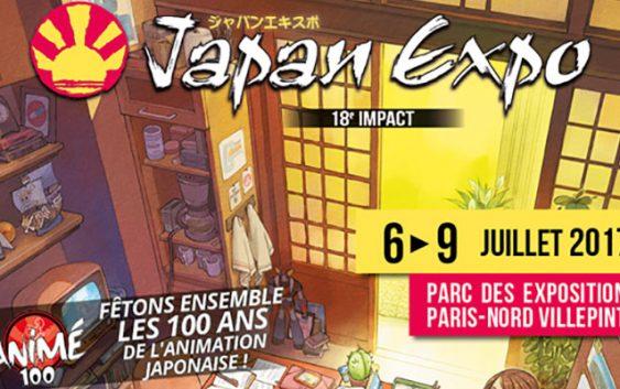 Japan Expo dévoile son affiche pour ses 18 ans !