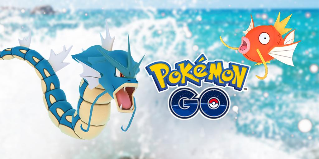 Pokémon Go waterfestival