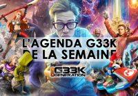 L'agenda Geek de la semaine (du 24 au 30 avril 2017)