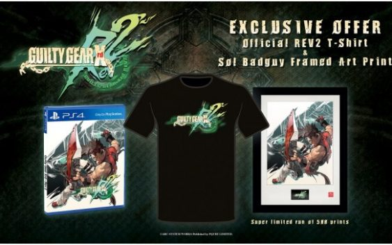 Une édition collector pour Guilty Gear Xrd: REV 2 chez Rice Digital