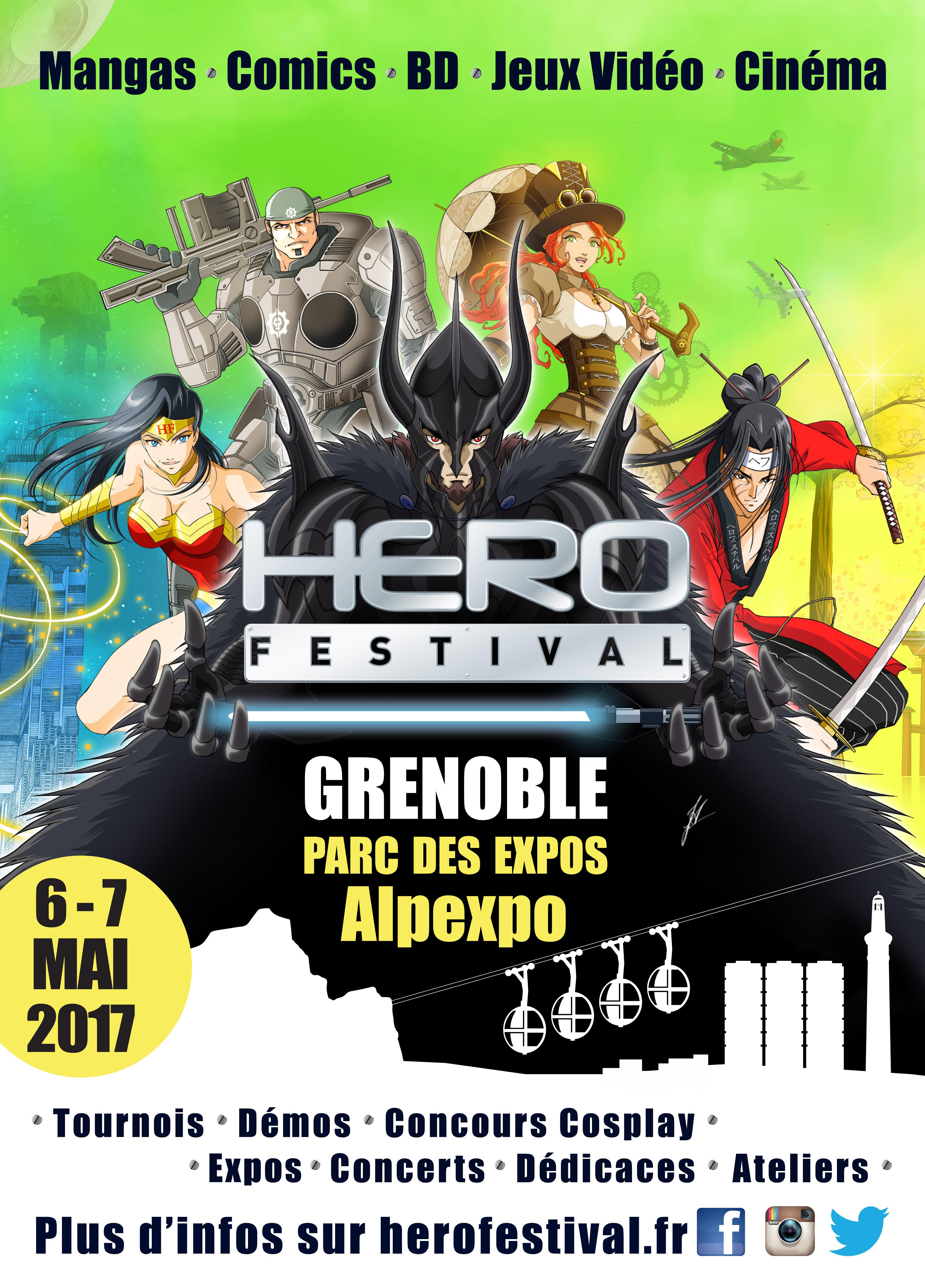 Hero Festival Grenoble 2017