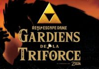 Gardiens de la Triforce : l'escape Game Zelda à Japan Expo !