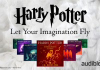 Harry Potter : le sorcier de Poudlard disponible en livre audio Audible