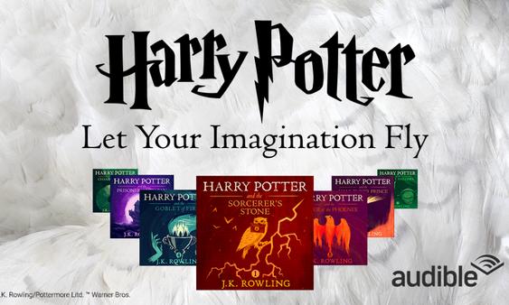 Harry Potter : le sorcier de Poudlard disponible en livre audio Audible