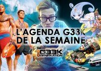L'agenda Geek de la semaine (du 19 au 25 juin 2017)