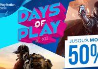 [E3 2017] Days of Play : Sony fête l'E3  avec une salve de promotions !