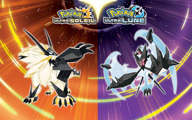 Pokémon Ultra Soleil et Pokémon Ultra Lune