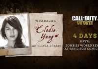 Call of Duty: WWII – Elodie Young au casting du mode Zombies