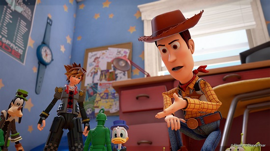 Kingdom Hearts III Toy Story World