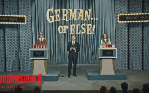 « En allemand, sinon… », un nouveau court pour Wolfenstein II: The new Colossus