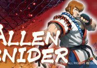 Arika : Un trailer extended pour Allen Snider, 6e combattant du Mysterious Fighting Game