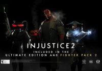 [GC2017] Injustice 2 : les combattants du Fighter Pack 2 révélés, Hellboy est là !