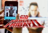 Star Wars Force Friday II : « Find the Force » une expérience mondiale en RA