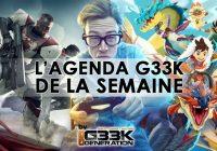 L'agenda Geek de la semaine (du 4 au 10 septembre 2017)