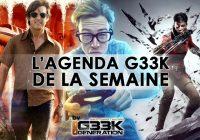 L'agenda Geek de la semaine (du 11 au 17 septembre 2017)