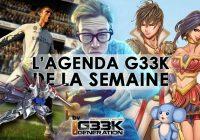 L'agenda Geek de la semaine (du 25 septembre au 1er octobre 2017)