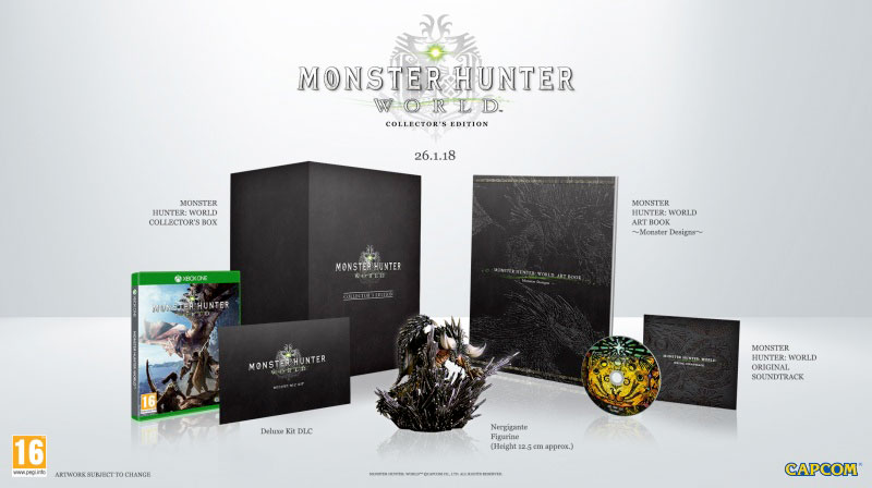 Monster Hunter Worlds - Collector