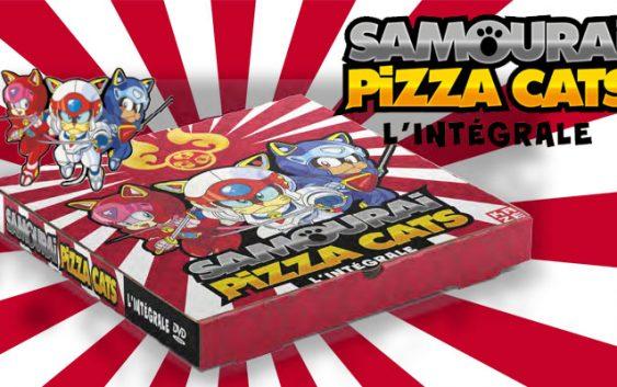 Samourai Pizza Cats : une édition DVD collector pour les Chats Ninjas