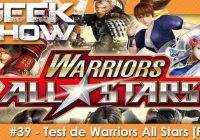 [TEST] Warriors All-Stars : le Musou crossover fan-service sur PS4