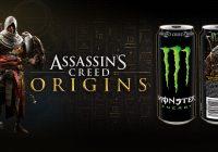 Assassin's Creed Origins : du contenu et des lots grâce à Monster Energy