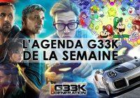 L'agenda Geek de la semaine (du 2 au 8 octobre 2017)