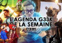 L'agenda Geek de la semaine (du 23 au 29 octobre 2017)