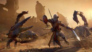 Assassin's Creed Origins - DLC 01 - Scorpion Fight