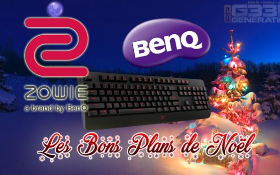 Les bons plans de Noël avec Zowie et BenQ !