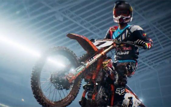 Monster Energy Supercross : un trailer de lancement pour le jeu mobile