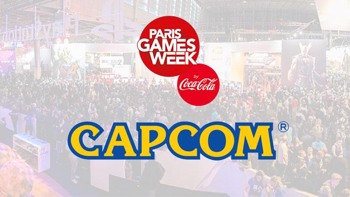 Paris Games Week - Capcom