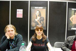 Paris Manga & Sci Fi Show 24 - Buffy contre les vampires - Juliet Landau 2