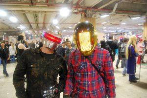 Paris Manga & Sci Fi Show 24 - Cosplay - Daft Punk