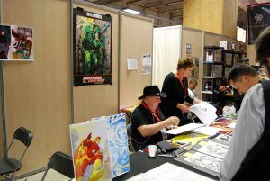Paris Manga & Sci Fi Show 24 - Dessin - Mike Grell
