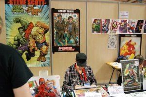 Paris Manga & Sci Fi Show 24 - Dessin - Rodney Ramos