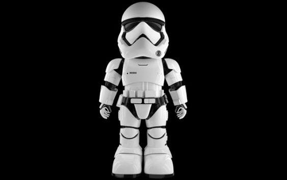 Star Wars : UBTECH présente un Stormtrooper du Premier Ordre interactif