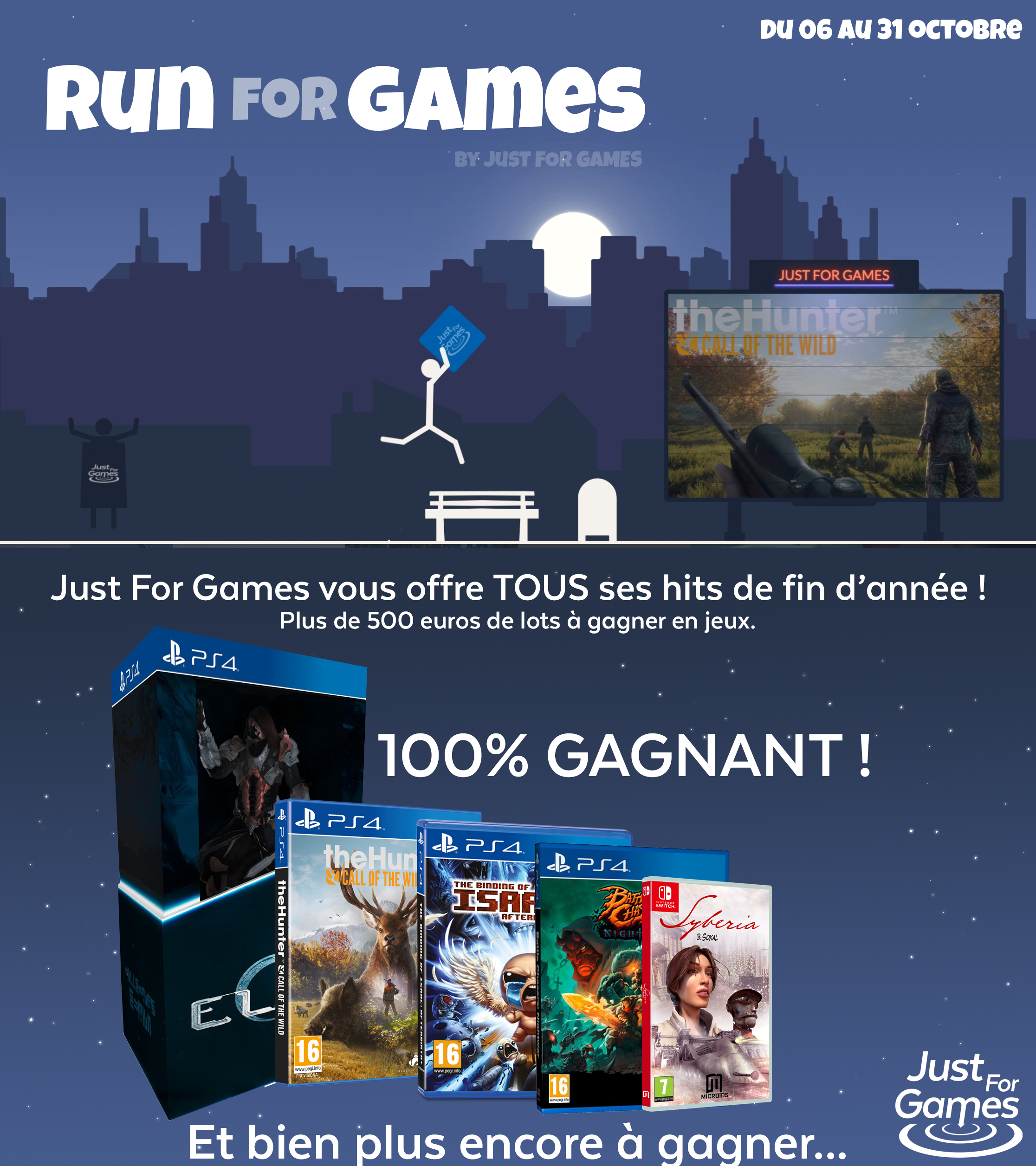 Run for Games - Just for Games