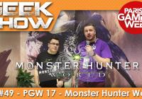 [PGW2017] On a testé et débriefé sur Monster Hunter World !