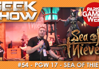 [PGW2017] On a testé et débriefé sur SEA OF THIEVES !