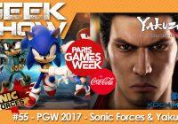[PGW2017] On a testé et débriefé sur Sonic Forces et Yakuza 6