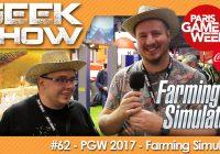 [PGW2017] On a testé Farming Simulator à la Paris Games Week 2017